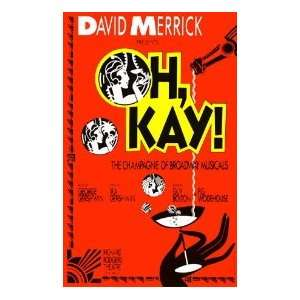 OH KAY (ORIGINAL BROADWAY THEATRE WINDOW CARD)  Kitchen