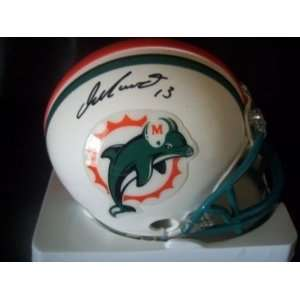 Dan Marino Autographed/Hand Signed Miami Dolphins Mini