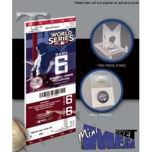 2009 Yankees Game 6 World Series Mini Ticket Everything Else