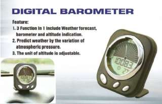 LED Suv/Car Digital Weather Station Barometer Altimeter