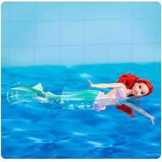 Disney Princess Swimming Ariel Doll   Mattel   Little Mermaid   Dolls