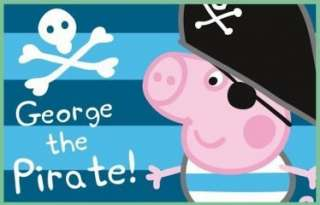 Rooms  Peppa Pig & George  Peppa Pig Rug GEORGE the Pirate
