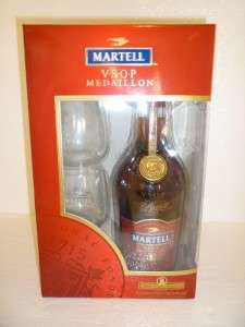 MEDAILLON COGNAC 750ML WITH GLASS REMY MARTIN HENNESSY COURVOISIER