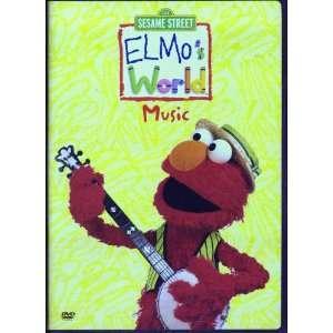 123 Sesame Street   Elmos World Music [DVD] Elmo Movies