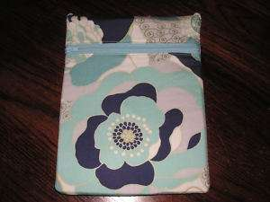 Flower novelty fabric purse tablet kindle case bag