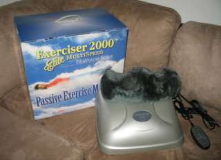 Clark Exerciser Elite 2000 Platinum Massager Chi Machine