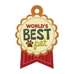 Friends Furever Collection   Embossed Tags   Worlds Best Pet