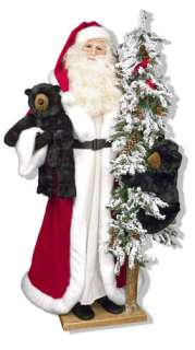 Ditz Designs 57Father Christmas Tree Alpine Winter NEW