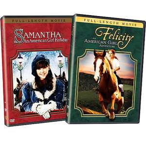 Felicity and Samantha An American Girl Gift Set [2 Discs] Movies
