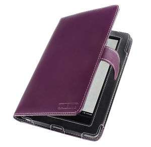 Cover Up  Nook Color / Nook Tablet Purple Leather Case