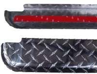 21995 Dee Zee Brite Aluminum Bed Rail Caps Ford Ranger 1993 2011