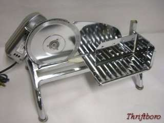 RIVAL Electric Food Cheese Deli Meat Slicer Model 110E/3   Very Nice