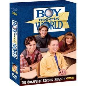 Boy Meets World The Complete Second Season TV Shows