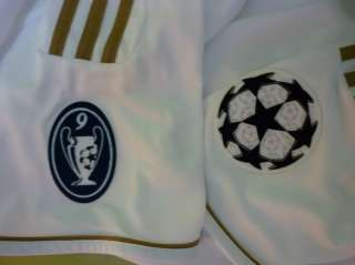 REAL MADRID CHAMPIONS LEAGUE JERSEY BRAND NEW W/ TAGS 100% AUTHENTIC