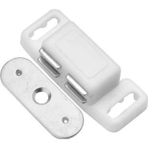 Hickory Hardware P659 W White Cabinet Door Catches
