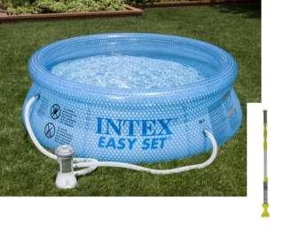 INTEX 8x 30 Easy Set Swimming Pool w/ Pump & Vacuum