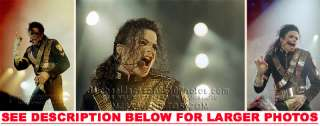 MICHAEL JACKSON DANGEROUS TOUR ONSTAGE 3RARE8x10 PHOTOS