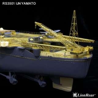Lionroar 1/350 PE WWII JAPANESE BATTLESHIP YAMATO