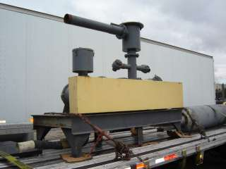 50 HP ROOTS DUAL BLOWER RAILCAR UNLOADER PKG USED