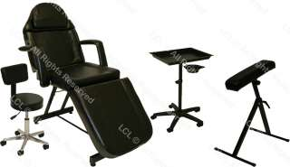 ELECTRIC MASSAGE TABLE BED CHAIR TATTOO SALON EQUIPMENT