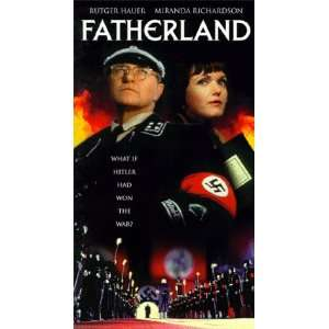 Fatherland [VHS]: Rutger Hauer, Miranda Richardson, Peter Vaughan