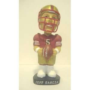 Jeff Garcia   Hand Painted Bobble Head Doll Limited edition