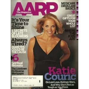 mag: AARP 11 12 /05 Katie Couric cover Secrets of