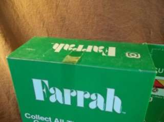 1977 MEGO FIGURE 12 FARRAH FAWCETT MAJORS DOLL RARE NEW MIB