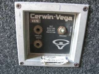 Cerwin Vega V37C PA 18 Inch Audio Subwoofer Speakers Cabinet D 439864