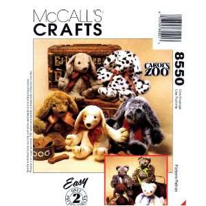 Carols Zoo Cat Puppy Stuffed Animals Toys: Arts, Crafts & Sewing