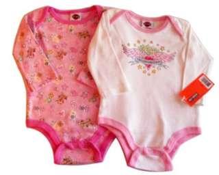 Harley Davidson Infant Girls Onesie Twin Pack Apparel One Piece Sizes