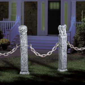 By Forum Novelties Inc Welcome But Beware Fence Posts