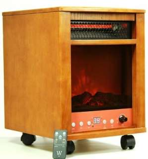Dr Heater Winter Infrared Heater Fireplace Dual Heating System Space