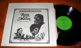 Robin & Marian Soundtrack John Barry OST Film Score Vinyl 12LP