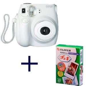Fujiilm Instax MINI 7s White Instant Film Camera with