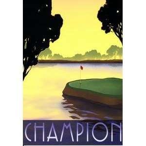 Happy Birthday Dad Greeting Card Champion Golf: Everything