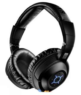Travel Bluetooth Wireless MP3/iPod Headphones SRS MM 550 Black