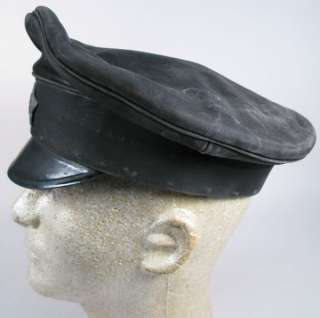 1920 RUSSIAN CIVIL WAR CHEKA NKVD LEATHER VISOR CAP RARE