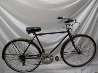 Vintage 1971 Schwinn Suburban Mens Bicycle Brown Bike USA Made Cruiser