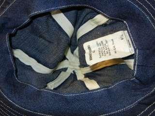 Original WWII US ARMY Blue Denim Daisey Mae Hat MINT 1941 Dtd