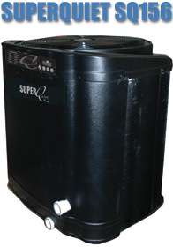 AquaCal SuperQuiet SQ156 Heat Pump   Pool Heater