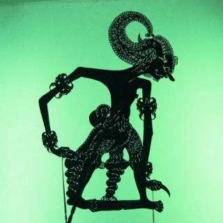 Wayang Kulit Shadow Puppet Schattenspielfigur Java cp58