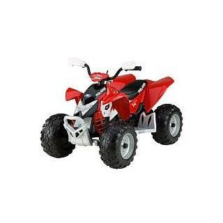 Peg perego polaris outlaw kids dual 12 volt atv for Peg perego polaris outlaw