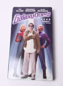 GALAXY QUEST , TIM ALLEN VHS TAPE