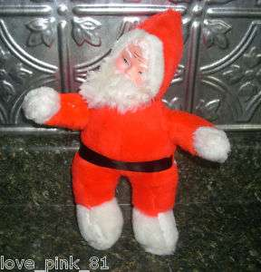 VINTAGE SUPERIOR TOY SANTA CLAUS CHRISTMAS PLUSH DOLL