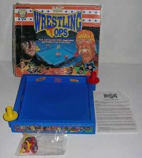 Rare WWF WWE Battling WRESTLING TOPS Figure Hulk Hogan Undertaker