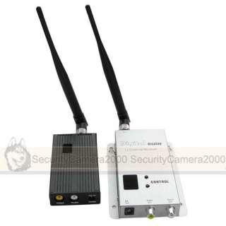 5W 4CH Wireless Camera Video Audio Transmitter Receiver Kit www