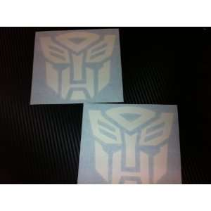 1 Pair of Transformers Autobots Racing Decal Sticker (New