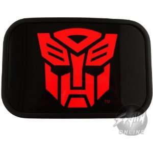 Official Transformers Autobot Red and Black Belt Buckle