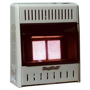 Kozy World KWP122 10,000 BTU Vent Free LP Gas Infrared Wall Heater
